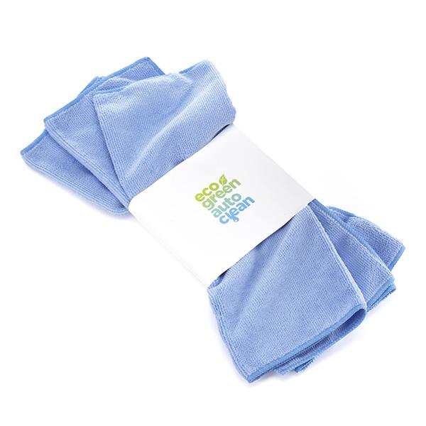 Microvezeldoek Blauw - Eco Green Auto Clean - Auto wassen zonder water