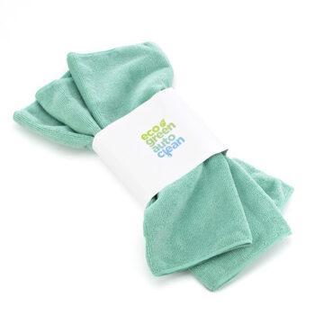 Microvezeldoek Groen - Eco Green Auto Clean - Auto wassen zonder water