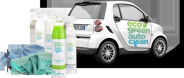 Eco Green Auto Clean - Auto Wassen Zonder Water - Waterless Carwash
