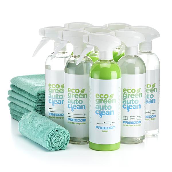 Pro Pakket - Eco Green Auto Clean - Auto wassen zonder water