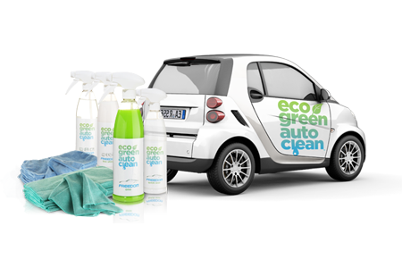 Eco Green Auto Clean - Auto Wassen Zonder Water - Waterless Carwash