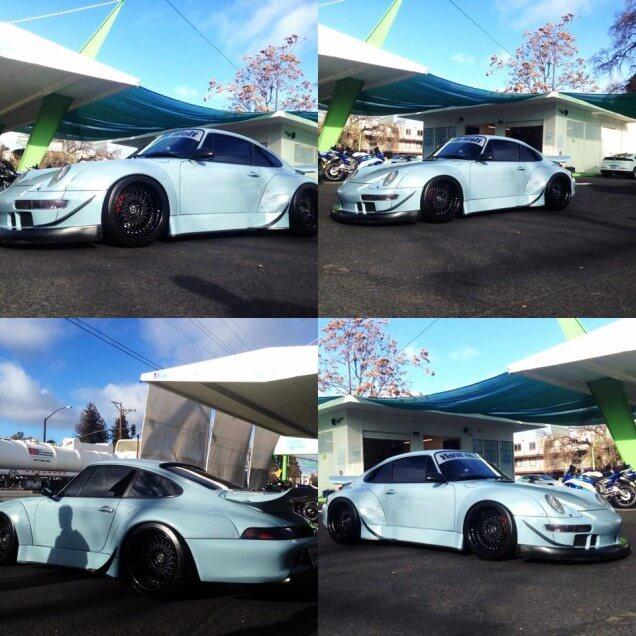 Custom Porsche - Eco Green Auto Clean