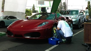 Ferrari F430 Spider - Eco Green Auto Clean