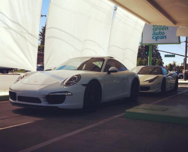 Porsche 991 & Ferrari 458 - Eco Green Auto Clean