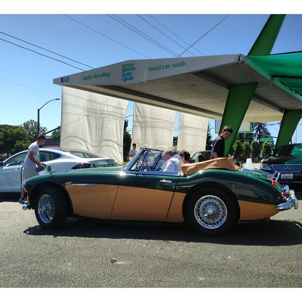 Austin Healy - Eco Green Auto Clean