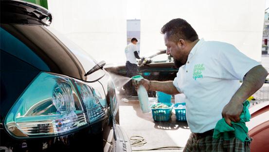 Auto Wassen Zonder Water - Eco Green Auto Clean